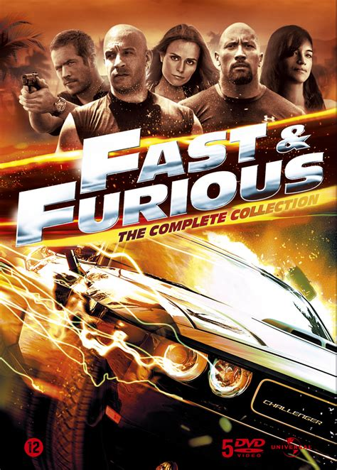 fast and furious 1 fast five fast furious boxsets blu ray dvd