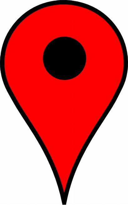 Map Icon Clip Maps Google Marker Pins