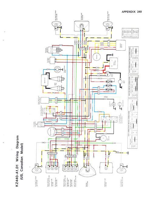 Wire Diagram 1975 Kz400 by Index Of Kz440 Wiring Diagrams