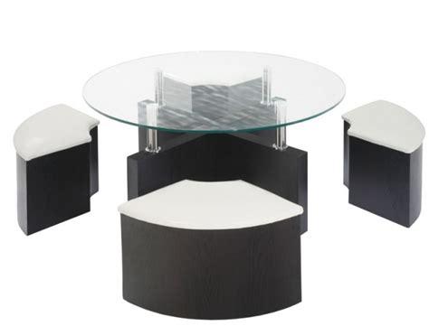 table basse avec pouf