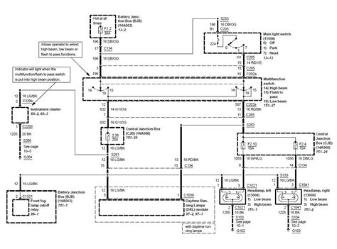 2005 F150 Headlight Wiring Diagram by 04
