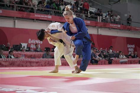 marin visser zilver team pursuit judo yog buenos aires