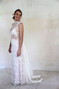 Robe Ceremonie Boheme : robe de mari e en dentelle de calais boh me robes de mari es dentelle lace wedding dress ~ Melissatoandfro.com Idées de Décoration