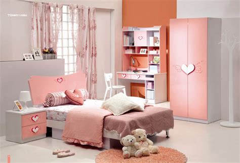 China Little Girl Bedroom Furniture (02)