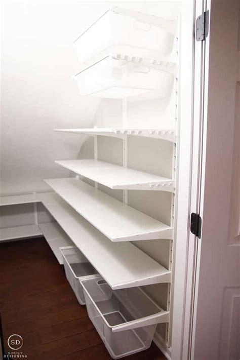 organize  closet   stairs pantry
