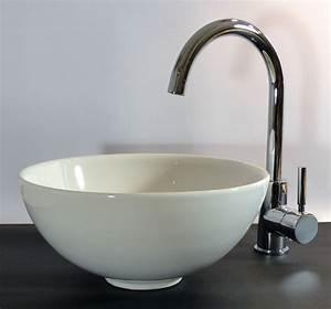 Aufsatzwaschbecken 30 Cm Tief : nero badshop keramik aufsatz waschbecken rund 32cm online kaufen ~ Indierocktalk.com Haus und Dekorationen