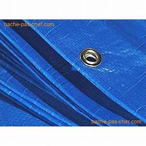 Bache En Plastique : b ches plastique 6 x 10 m bleue bache pas cher ~ Edinachiropracticcenter.com Idées de Décoration