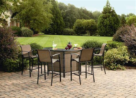 garden oasis harrison 5 pc patio bar set to 299 00