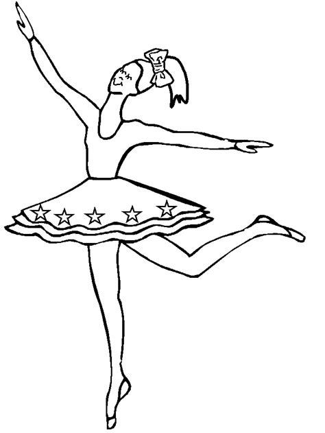 Ballet Kleurplaat by Ballet Kleurplaten Animaatjes Nl