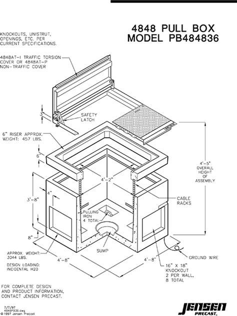 Jensen Precast - Electrical - Pull/Splice Boxes