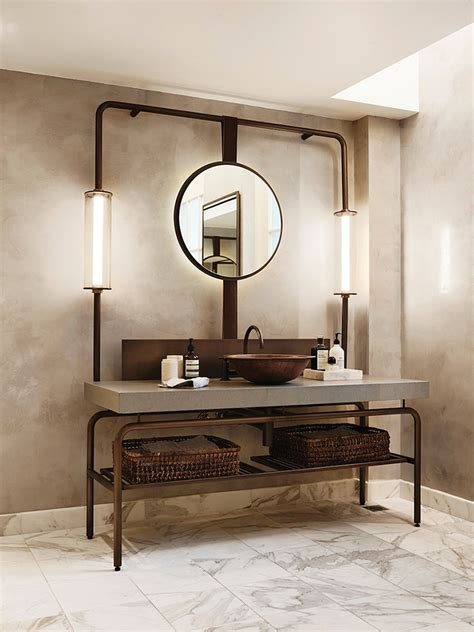 Bagno Stile Industriale 50 Idee Di Arredo Dal Design