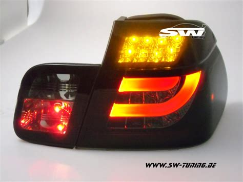 bmw e46 led rückleuchten led r 252 ckleuchten e46 lci bmw 3er lim 02 04 black smoke 4