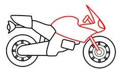 motorcycle pattern   printable outline  crafts
