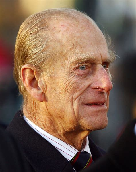 Prince Phillip in The Queen And Duke Of Edinburgh Visit ...
