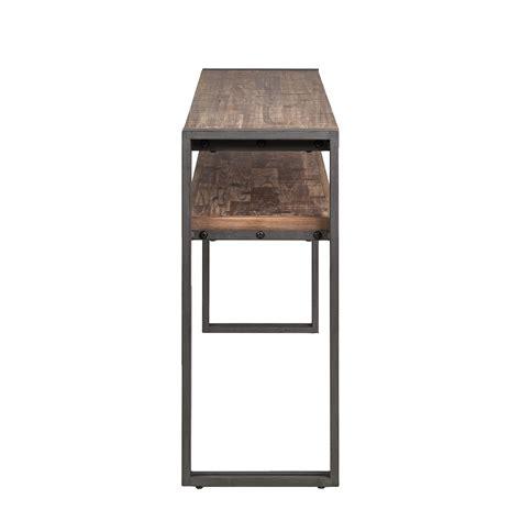 Konsole Aus Holz by Konsole Akazie Massiv Metall Holz Braun Anrichte Sideboard