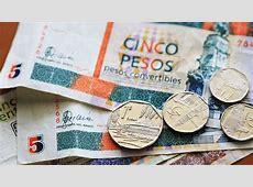 Pesos cubanos