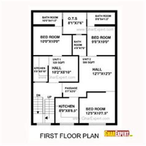 house plan   feet   feet plot plot size  square yards tips pinterest yards