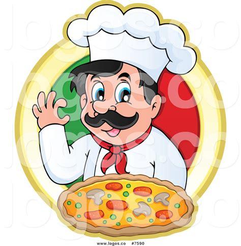 logo chef de cuisine royalty free clip vector logo of a chef gesturing ok