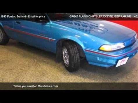 free car repair manuals 1986 pontiac sunbird security system 1993 pontiac sunbird problems online manuals and repair information