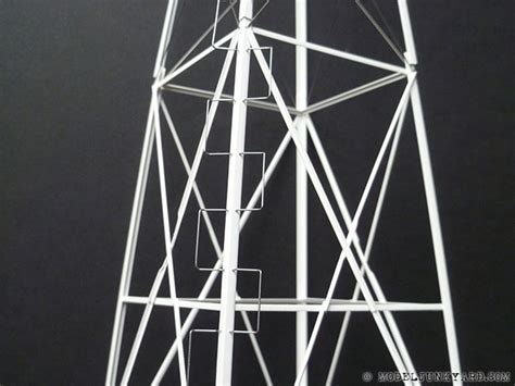 vintage  aermotor windmill scratch building  tower