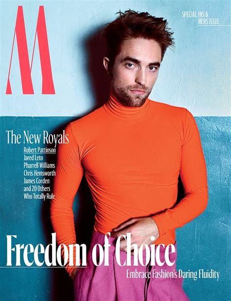 Robert Pattinson dons turtle neck and neon pink trousers ...