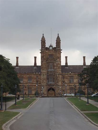 University Sydney Gothic South Wales Revival Nsw