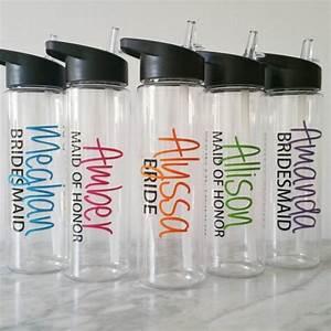 personalized bridal water bottles wedding party water With how to make personalized water bottles