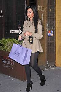 More Pics of Kourtney Kardashian Pea Coat (3 of 10 ...