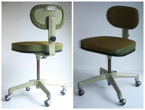 60 s retro mid century modern swivel office chair metal