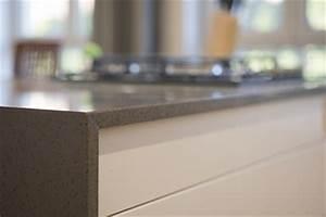 comment poser un plan de travail de cuisine sans meuble With pose d un plan de travail cuisine
