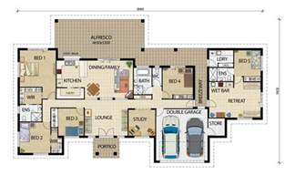 smart placement small house design plan ideas acreage designs house plans queensland house designs