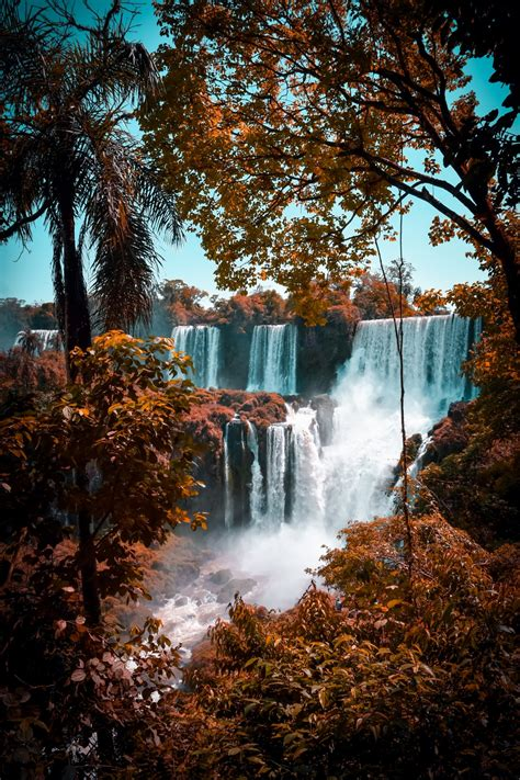 Aesthetic High Resolution Fall Backgrounds by Waterfall Wallpapers Free Hd 500 Hq Unsplash