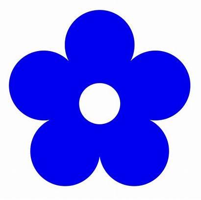Clipart Flower Colour Clip Peace Flowers Retro
