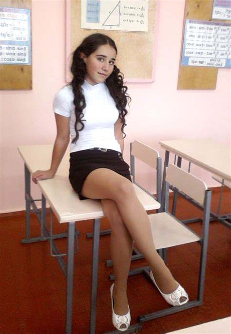 Students In Pantyhose