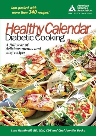 healthy calendar diabetic cooking  lara rondinelli hamilton
