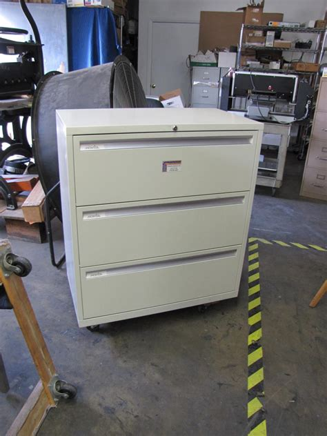 pull out file cabinet drawer lot 13 montisa 3 drawer quot pull out quot filing cabinet wirebids