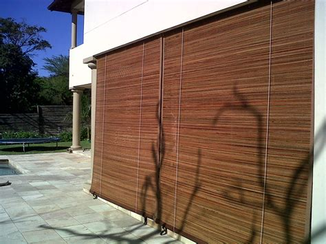 exterior rattan bamboo blinds shades antillesnatural b