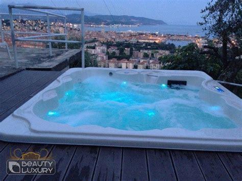 piscina su terrazzo mini piscina idromassaggio spa bl 801 luxury