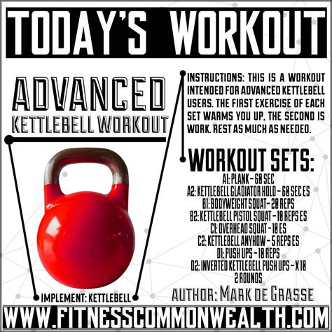 kettlebell workout exercise advanced workouts conditioning ab strength circuit fun lower rest single ropes battle