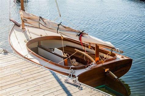 light weight catboat boat boat design wooden sailboat