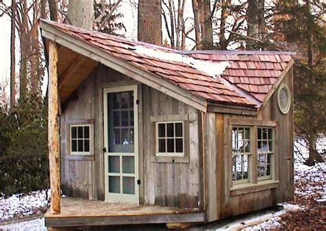 12' X 16' Backyard Cabin Retreat Pic Shows Red Cedar