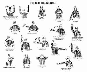 Referee Hand Signals