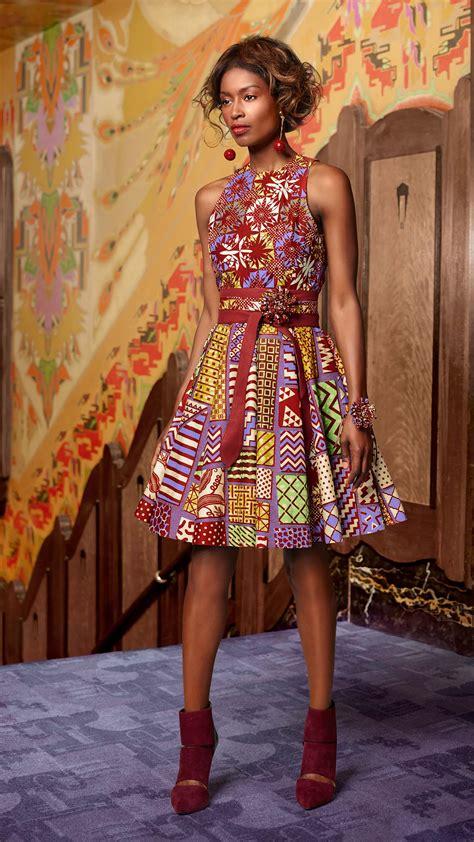 Robe Pagne Africain Un Esprit Classique Vlisco V Inspired Mode Africaine En 2018 Mode Africaine