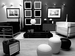 25, Elegant, Living, Room, With, Black, And, White, Color, Combination, That, Will, Enhance, The, Beauty