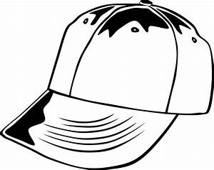 Black And White Cap Clipart