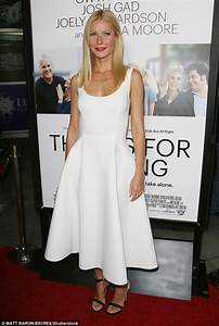 Gwyneth Paltrow excited for her first wedding   Daily Mail ...