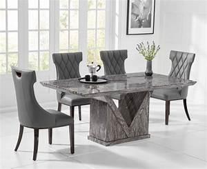Minsk, 160cm, Grey, Marble, Dining, Table, Save, U00a3, U00a3, U00a3