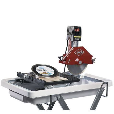 mk diamond mk 370 sc 1 1 4 hp 7 quot tile saw with blade