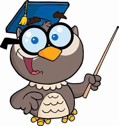 Clipart Owl Enzyme Teacher Clip Kindergarten Teaching
