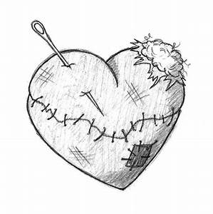 Gallery For Emo Broken Heart Drawings | Drawings and ...